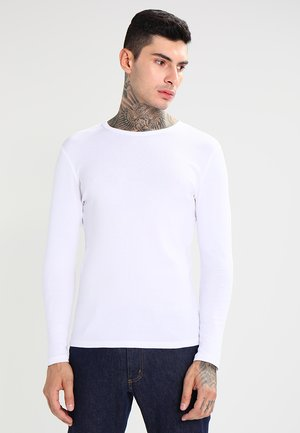 BASE 1-PACK  - Langærmede T-shirts - white