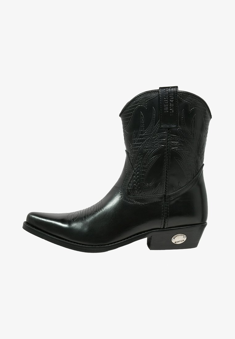 Kentucky's Western - Cowboy/biker ankle boot - black