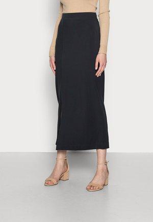 TUBE SKIRT - Pouzdrová sukně - black