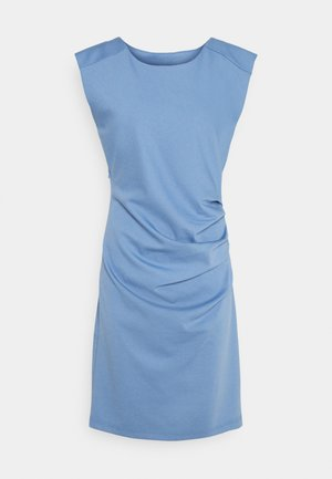 INDIA ROUND NECK DRESS - Etui-jurk - quiet harbor