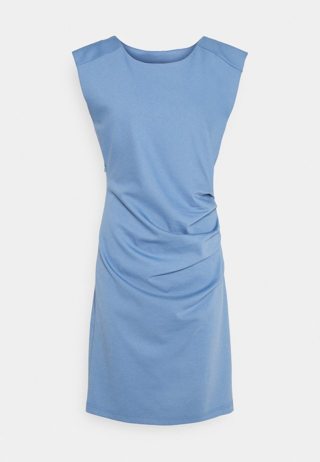 INDIA ROUND NECK DRESS - Tubino - quiet harbor