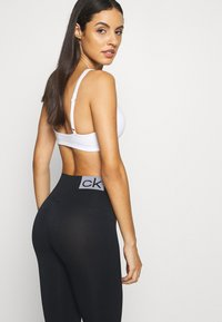 Calvin Klein Underwear - WOMEN LOGO MASON - Leggings - Stockings - black / white - 3
