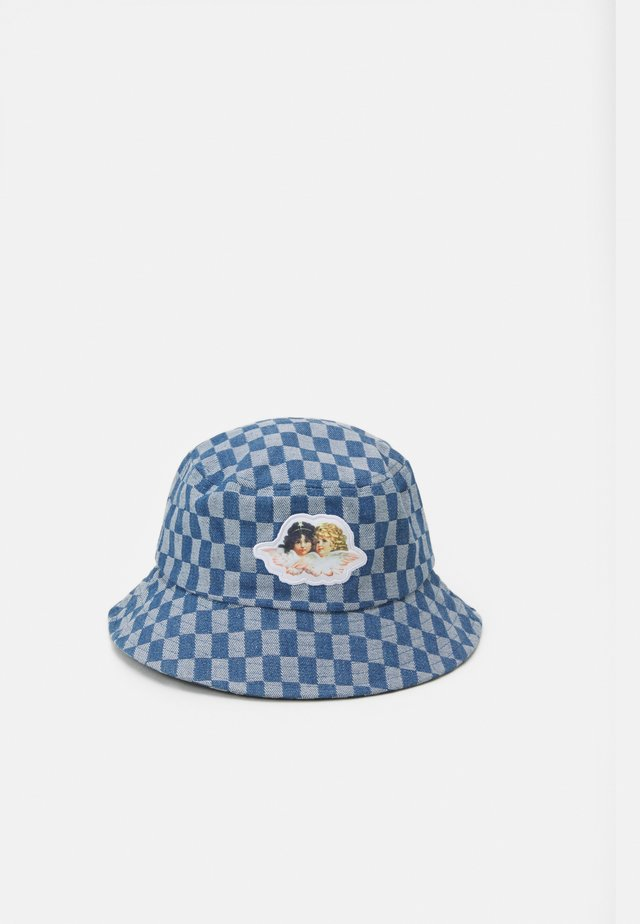 CHECK BUCKET HAT UNISEX - Hoed - pale blue
