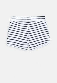 Abercrombie & Fitch - VINTAGE CURVE HEM - Shorts - navy and white - 1