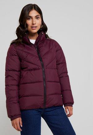 Winter jacket - dark wine red
