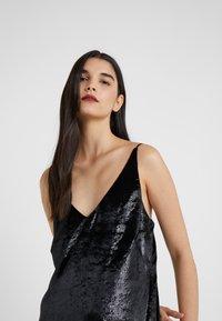 J Brand - BRIELLE SLIP DRESS - Vestito estivo - black - 4