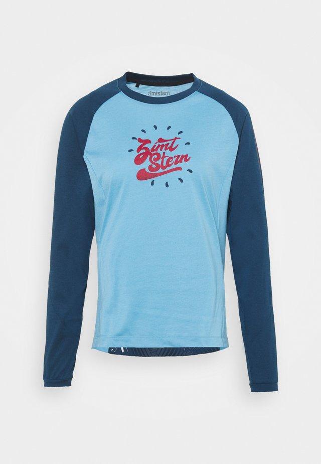 PUREFLOWZ - T-shirt de sport - heritage blue/french navy