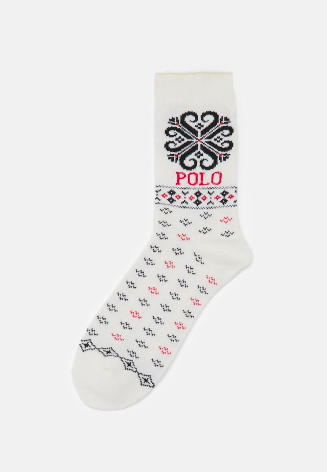 HOLIDAY ROLL TOP - Socks - ivory