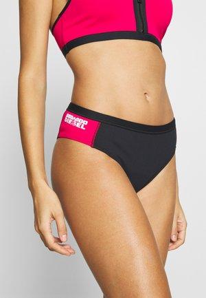 BFPN-PEGGYDOO UNDERPANTS - Bikini bottoms - pink/black