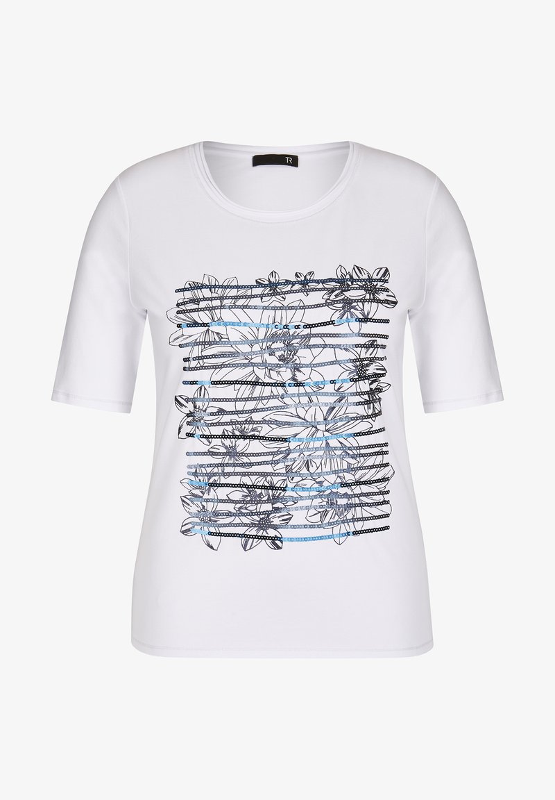 TR - Print T-shirt - weiãŸ