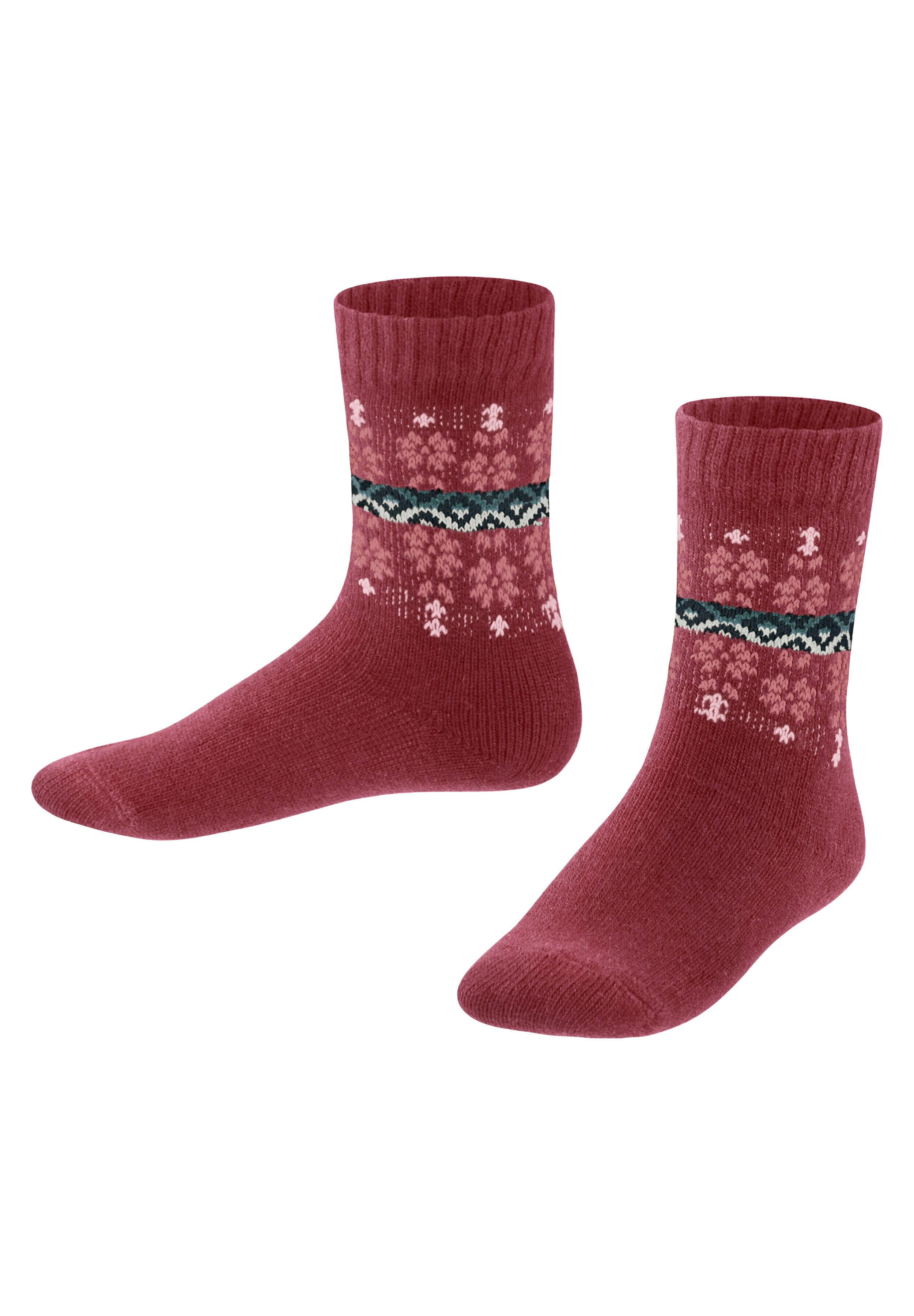 Kinder Socken - ruby