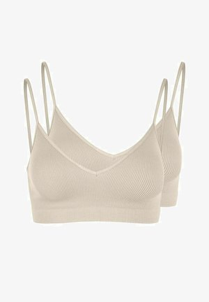 2 PACK - Bustier - whitecap gray