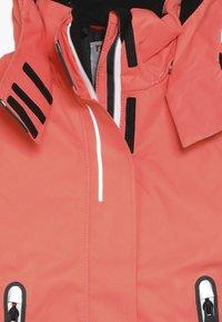 Reima - FROST - Snowboard jacket - bright salmon - 5
