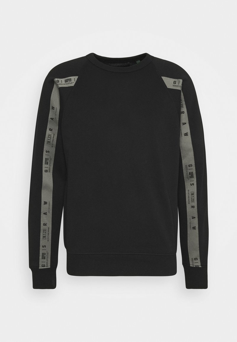 G-Star - RAGLAN TAPING - Sweatshirt - dark black