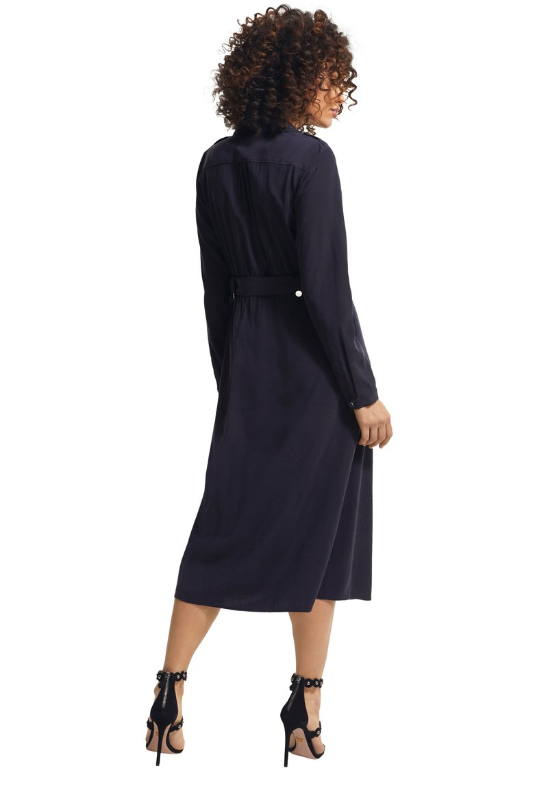 comma - Shirt dress - blue