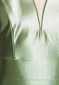 WAL G. - LIBBY V NECK MIDI DRESS - Cocktail dress / Party dress - mint green - 5