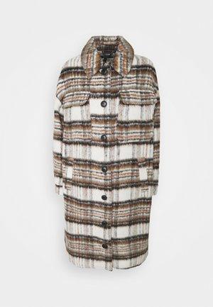 VMGEMMA CHECK LONG JACKET - Klasický kabát - bungee