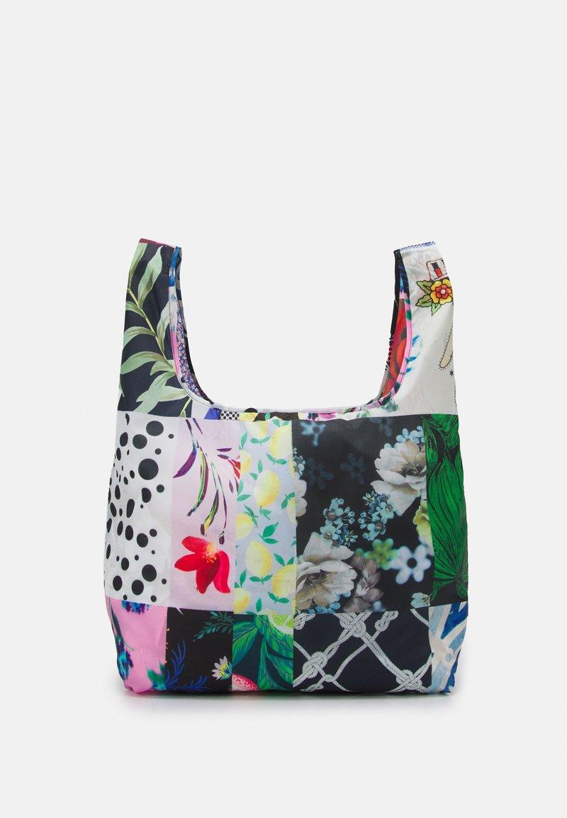 Desigual - BOLS PATCH ARGELIA - Tote bag - white