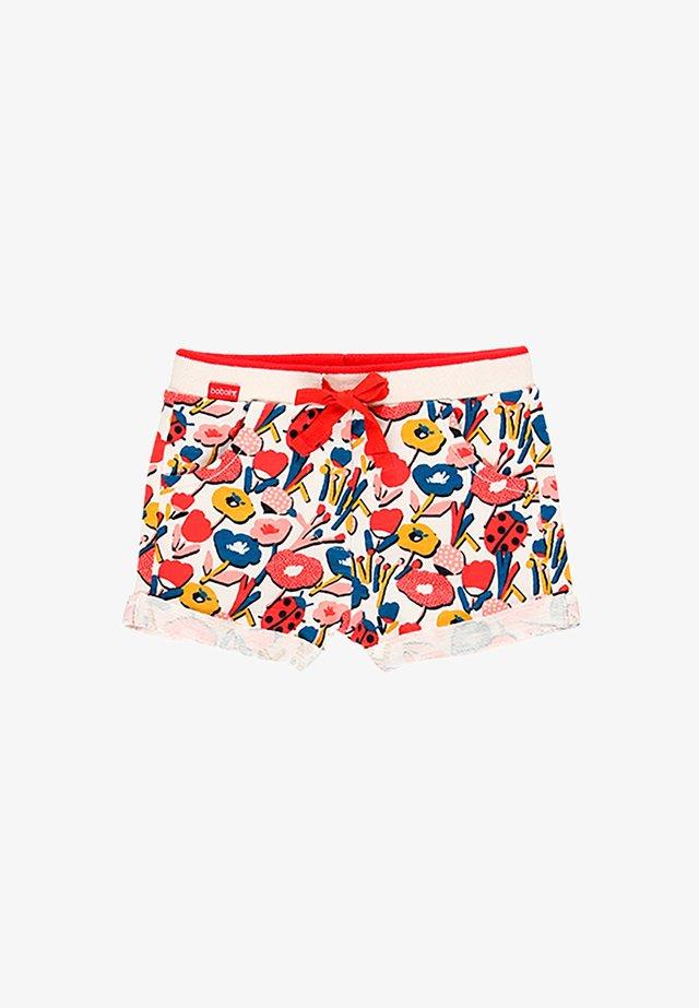 FLAME BLUMEN  - Shorts - print