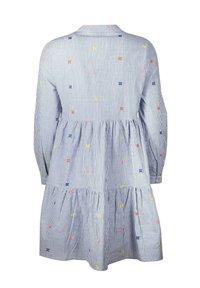 Zwillingsherz - BONNY - Day dress - blau/weiß - 1