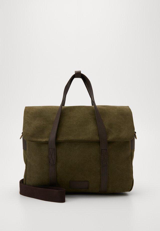 UNISEX - Taška na laptop - olive