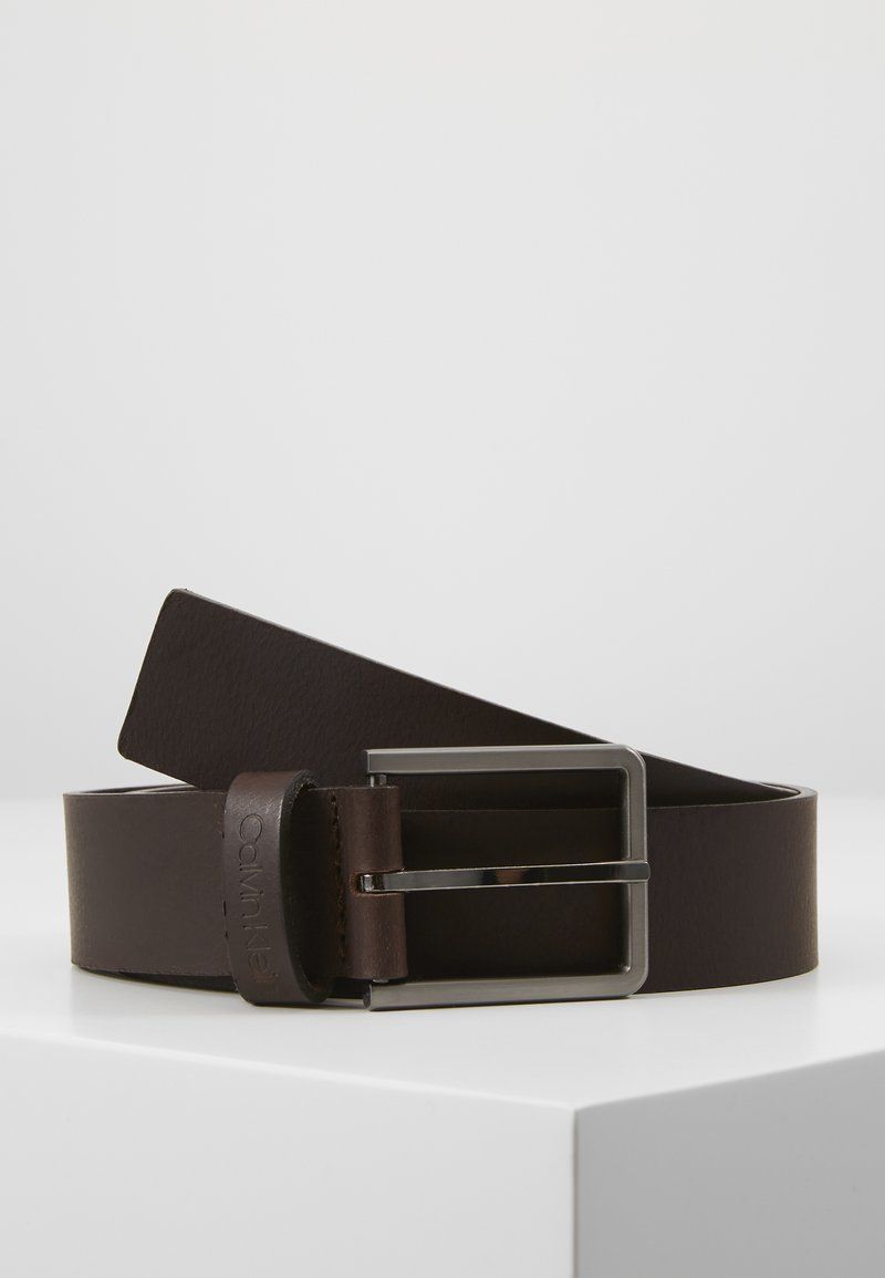 Calvin Klein - ESSENTIAL BELT - Pásek - brown