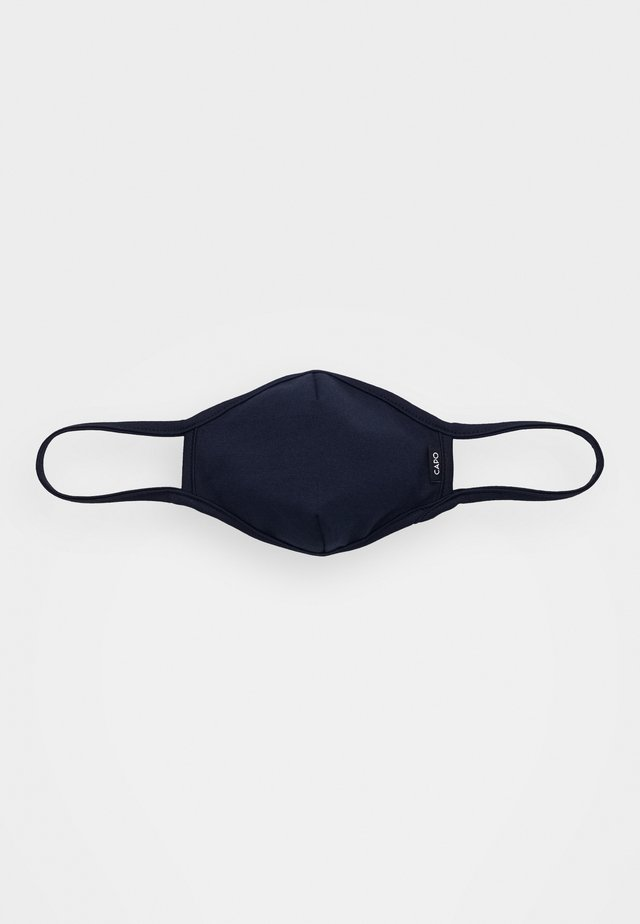 FACEMASK SINGLE - Stoffen mondkapje - dark blue