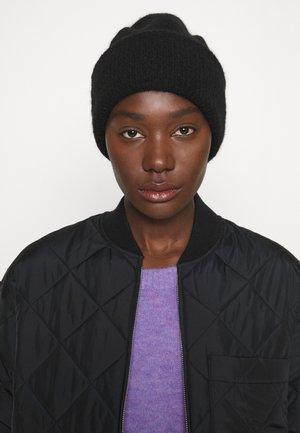 BEANIE - Mössa - black dark