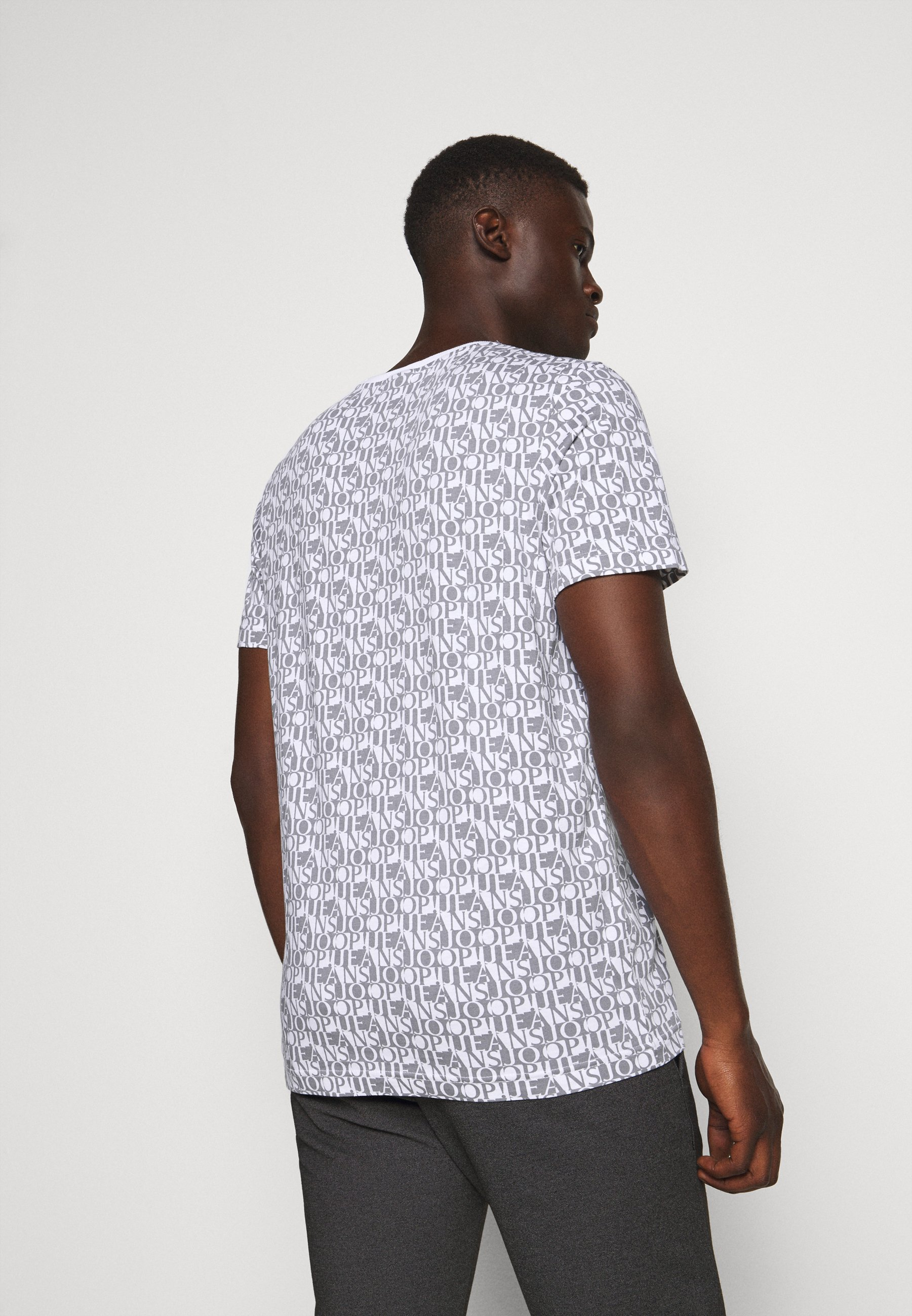 JOOP! Jeans ALESSANDRO - Print T-shirt - white WUWlK