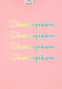 Champion - COLOR LOGO CREWNECK - Camiseta estampada - pink - 2