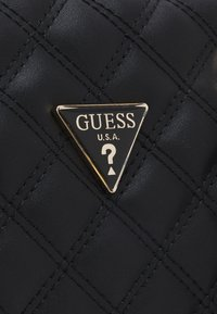 Guess - CESSILY BOX SATCHEL - Håndveske - black - 4