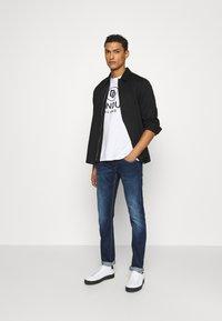 Dondup - PANTALONE GEORGE - Slim fit jeans - blue denim - 1