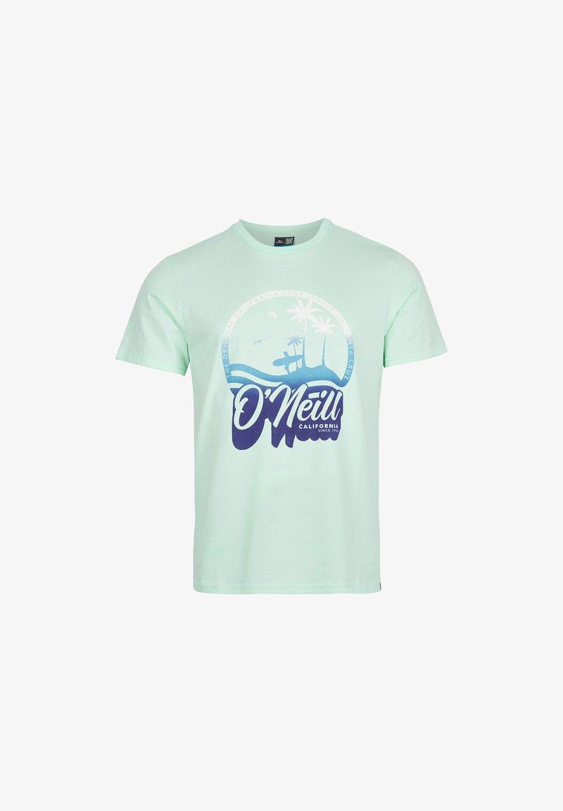 O'Neill - TEES GRADIENT VINTAGE SURF  - Print T-shirt - bluelight