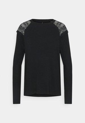 ONLKIRA MIX - Langærmede T-shirts - black
