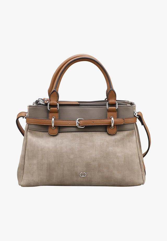 BACK TO EARTH - Handbag - taupe