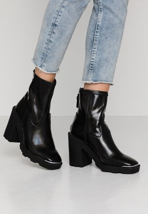 ALTITUDE - High heeled ankle boots - black