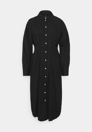 VMCHARLOTTE SHIRT DRESS - Shirt dress - black