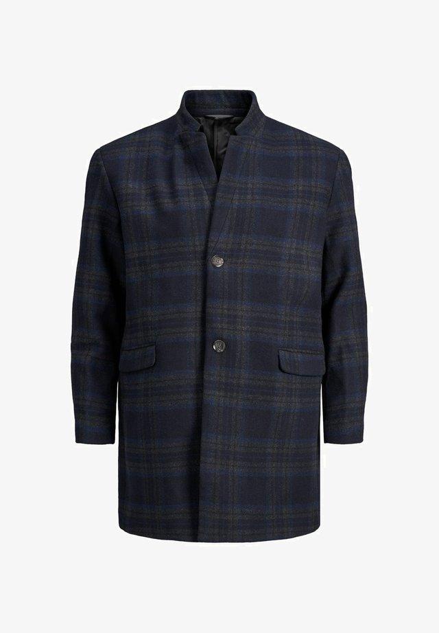 Classic coat - black iris