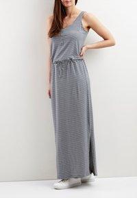 Object - OBJSTEPHANIE MAXI DRESS  - Maxi dress - balsam green - 0