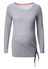 Noppies - HEATHER - Long sleeved top - grey melange - 4