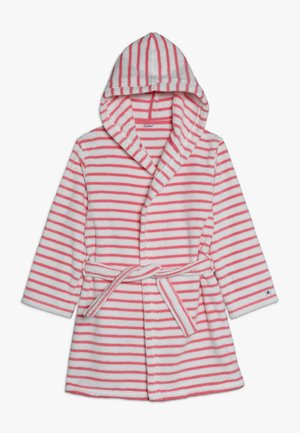 BABEL - Dressing gown - pink/white