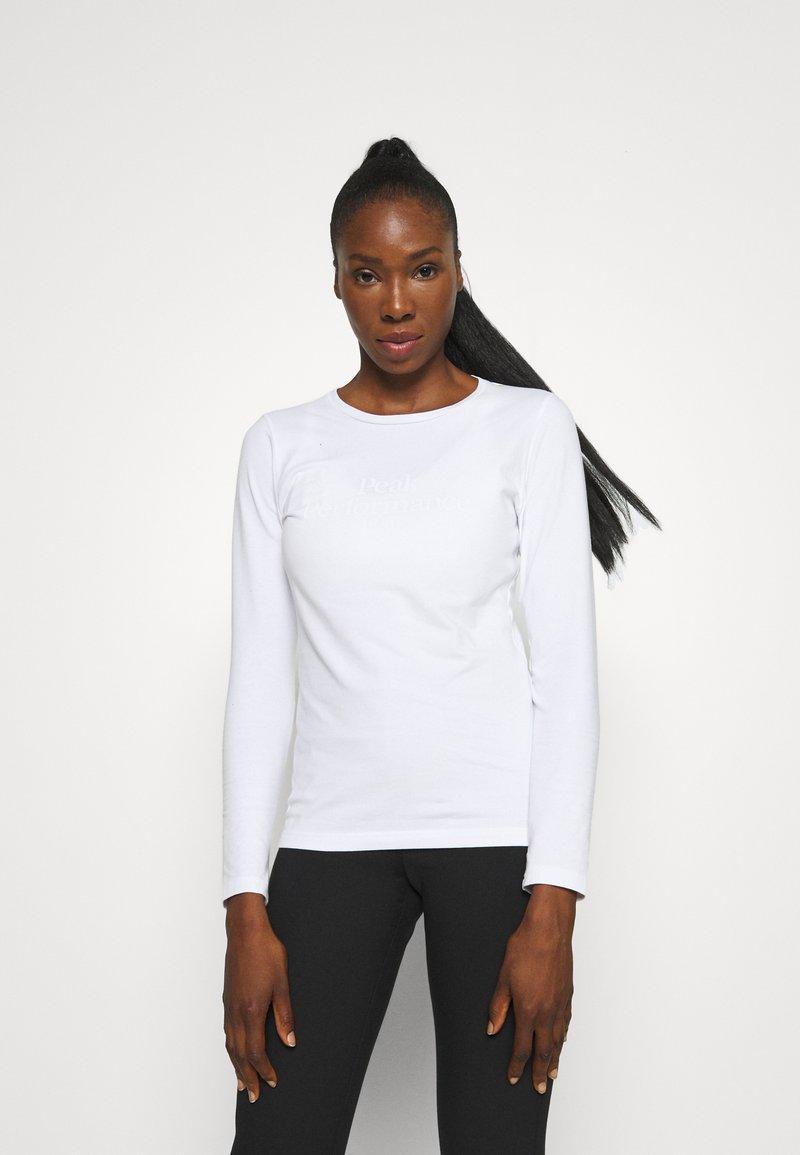 Peak Performance - ORIGINAL - Maglietta a manica lunga - white