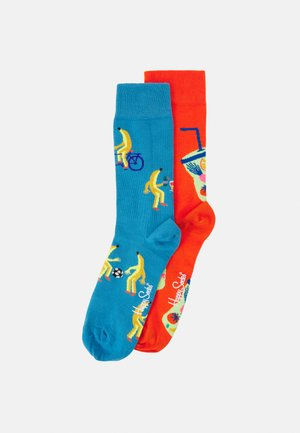 GOING BANANAS SMOOTHIE 2 PACK UNISEX - Ponožky - multi