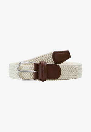 STRECH BELT UNISEX - Braided belt - off white