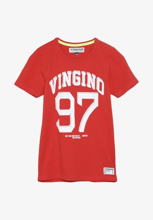 HOPE - Print T-shirt - red
