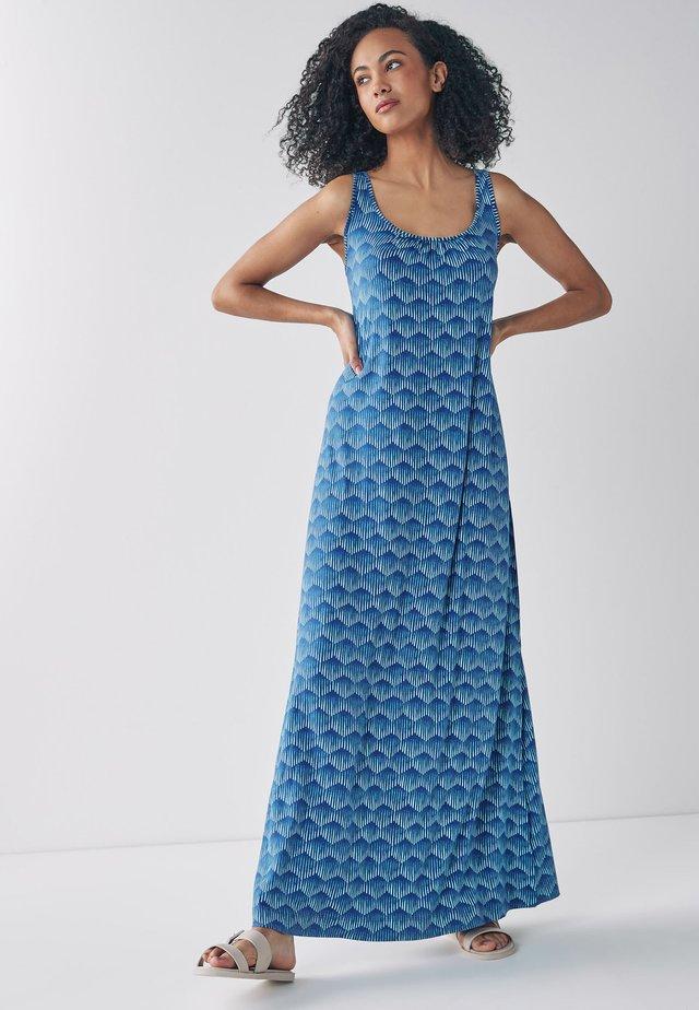 TRAPEZE - Maxi šaty - blue