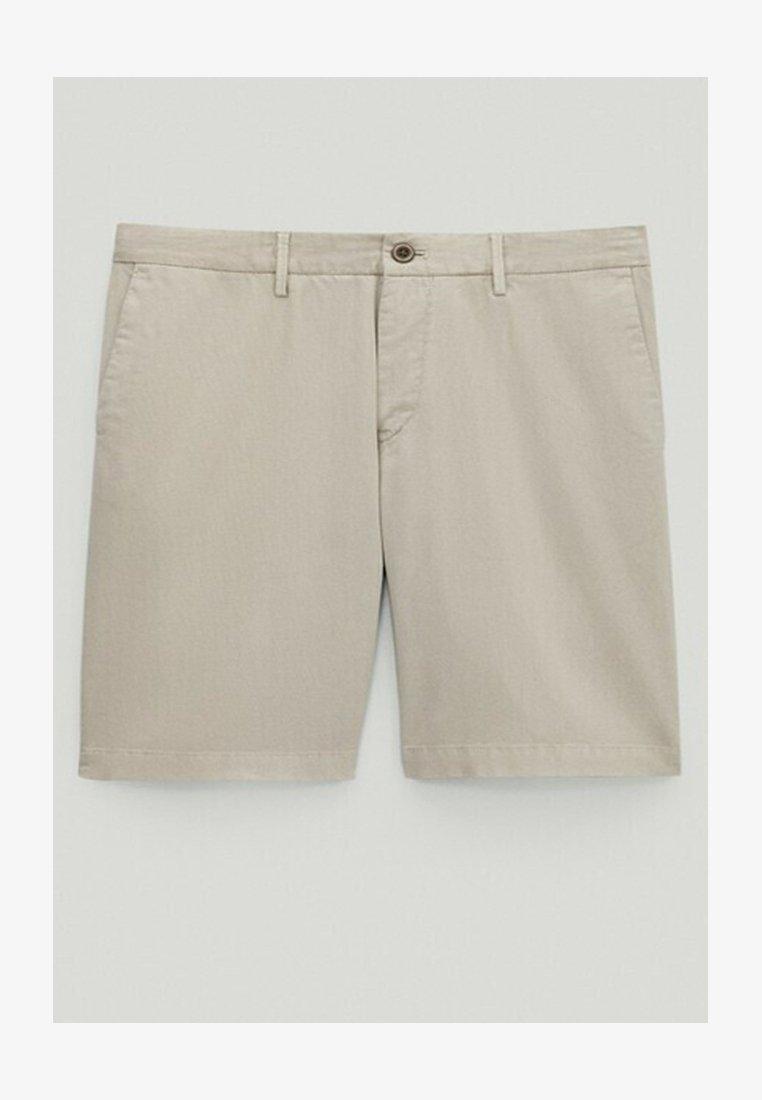 Massimo Dutti - Shorts - light grey