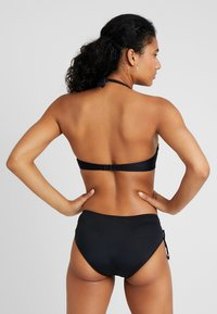 LASCANA - GLORIA WIRE BANDEAU - Bikini top - black - 2