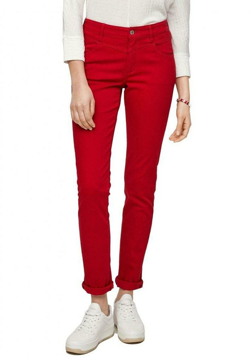 s.Oliver - Chinos - red