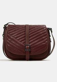 Esprit - Across body bag - bordeaux red - 7